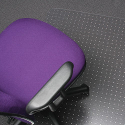MARBIG TUFFMAT CHAIRMAT Rectangle 90x120cm Clear